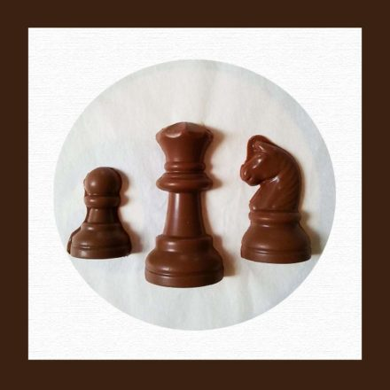 Chocolate Shaped Chess Pieces