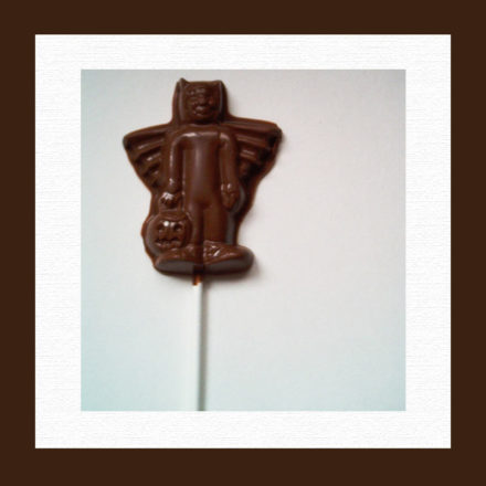 Chocolate Lollipop for Trick or Treat